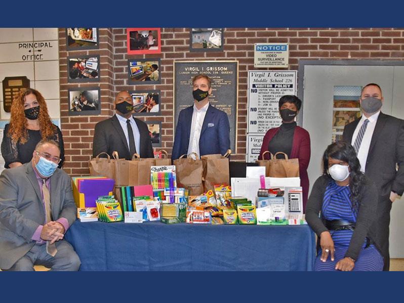 Community Involvement - School Donation